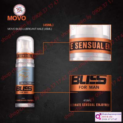 Gel kích thích kéo dài quan hệ nam MOVO Bliss