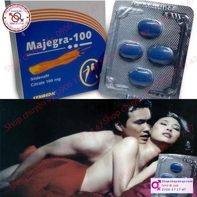 Thuốc Cường Dương Majegra-100 Ấn Độ cao cấp