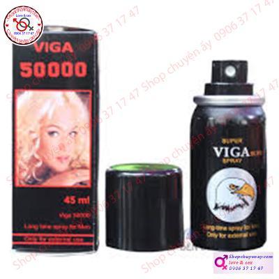 Xịt kéo dài thời gian VIGA 50000 cao cấp